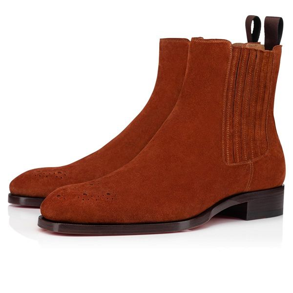 Christian Louboutin Ankle Boots Angloma A. Calf Farwest Men's Shoes
