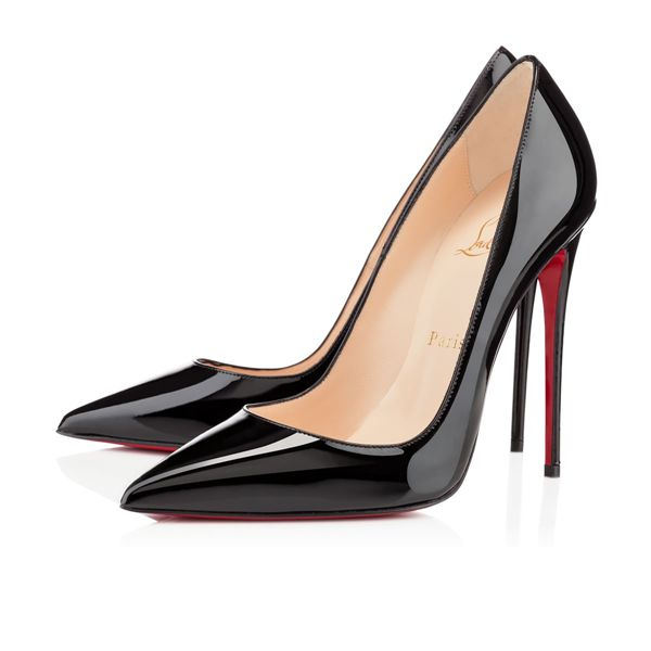 Christian Louboutin Pumps So Kate 120mm Black Patent Leather Heels